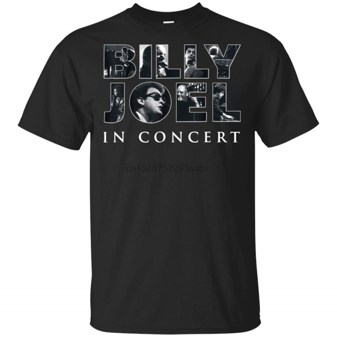 Billy Joel 2019 Tour Dates T Shirt for Men Idea for Fans Who Love Piano Man Men T Shirt Short Sleeve Round Neck image