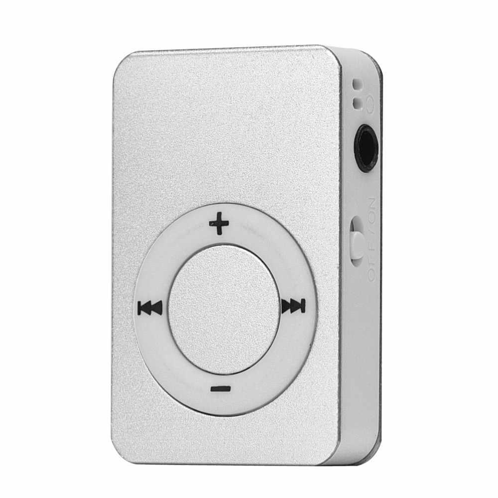 Mini USB MP3 reproductor multimedia de música pantalla LCD compatible con tarjeta Micro SD TF de 16GB