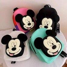 Sac à dos Mickey Mouse et Minnie pour enfant, Disney, nouveau, tendance, cadeau, automne, printemps,