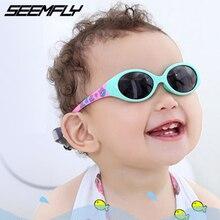 Seemfly Kids Sunglasses Boys Girls Polarized Silicone Safety
