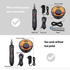 Image 5 - Лидер продаж, внешний аккумулятор с мощным мини блоком питания для татуировок, профессиональный набор для татуировочной машинки