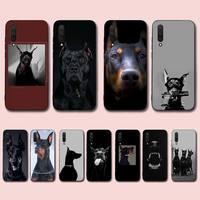 FHNBLJ custodia per telefono per cani con animali Doberman per Xiaomi mi 9 8 10 5 6 lite F1 SE Max 3 2 mix 2s