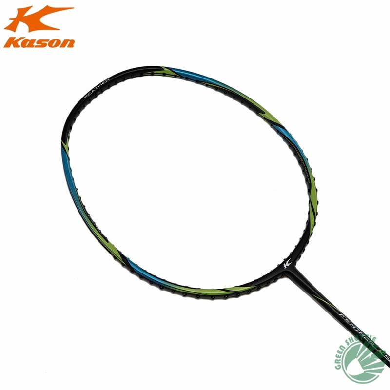 2020 New Kason Badminton Racket K520 SuperLight 5U Carbon Single Racquet With Gift Raquete