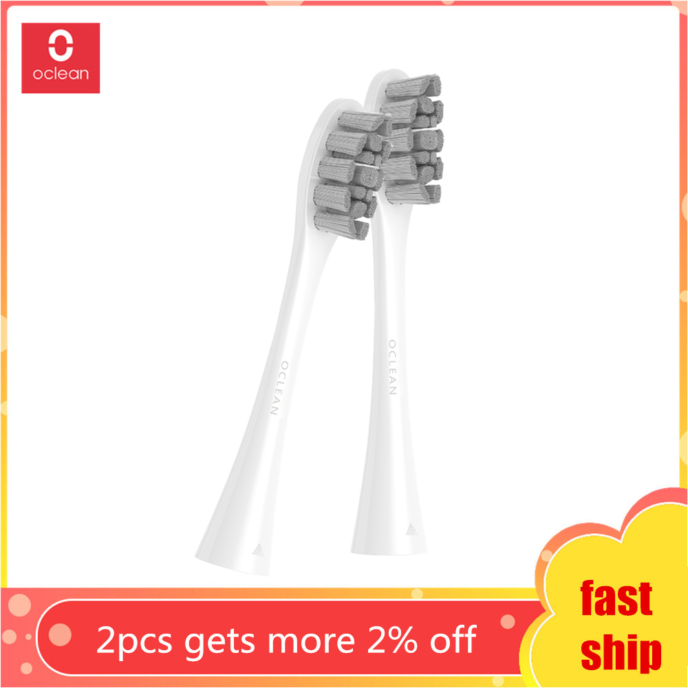 Oclean PW01 2pcs Replacement Brush Head for Z1 / X / SE / Air / One Electric Sonic Toothbrush image