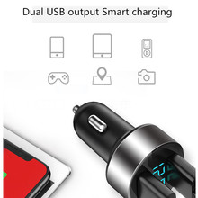 Tancarrey araç şarj 2 port hızlı şarj çift USB için Peugeot 206 207 208 301 307 308 408 407 508 2008 3008 4008 108