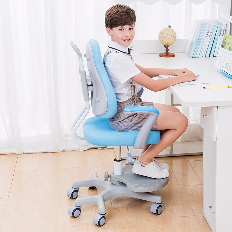 H1 Children's Writing Chair Primary School Students'learning Chair Computer Chair Household Adjustable Lifting Sitting Posture