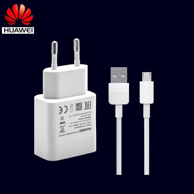 Huawei EU N7 Nova Lite Adaptador USB Carregador de Parede Cabo Micro USB Rápido Rápido de Viagem 9V2A Honra 9i 9 8 lite P8 Jogar max 7 7i 6