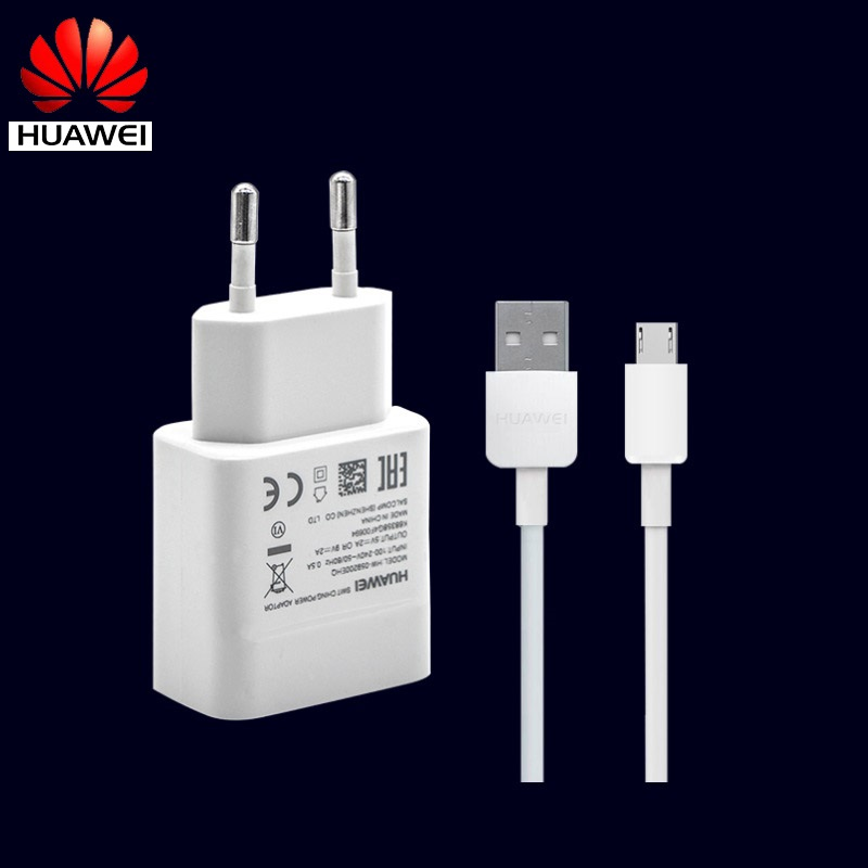 Сетевое зарядное устройство Huawei EU N7 Nova Lite, USB кабель Micro USB, быстрый дорожный адаптер 9V2A Honor 9i 9 8 Lite P8 max Play 7 7i 6
