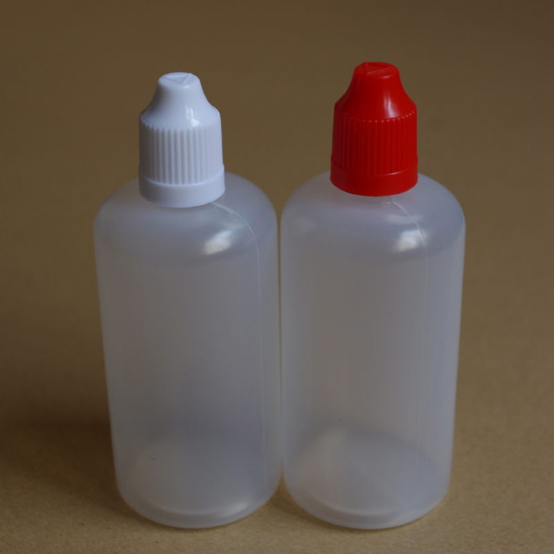 1pcs 100ml Plastic Dropper Bottle With Childproof Cap And Long Thin Needle Tip 100ml Empty E Liquid Bottle