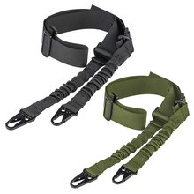 2Pcs Tactical 2 Point Gun Sling Shoulder Strap Outdoor Rifle Sling With QD Metal Buckle Shotgun Gun Belt Hunting Gun Accessories
