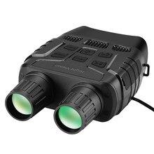 Jumelles numériques à vision nocturne IR, 300 yards, télescope, zoom optique, écran de 2,3 pouces, enregistrement de vidéos et photos, pour chasse