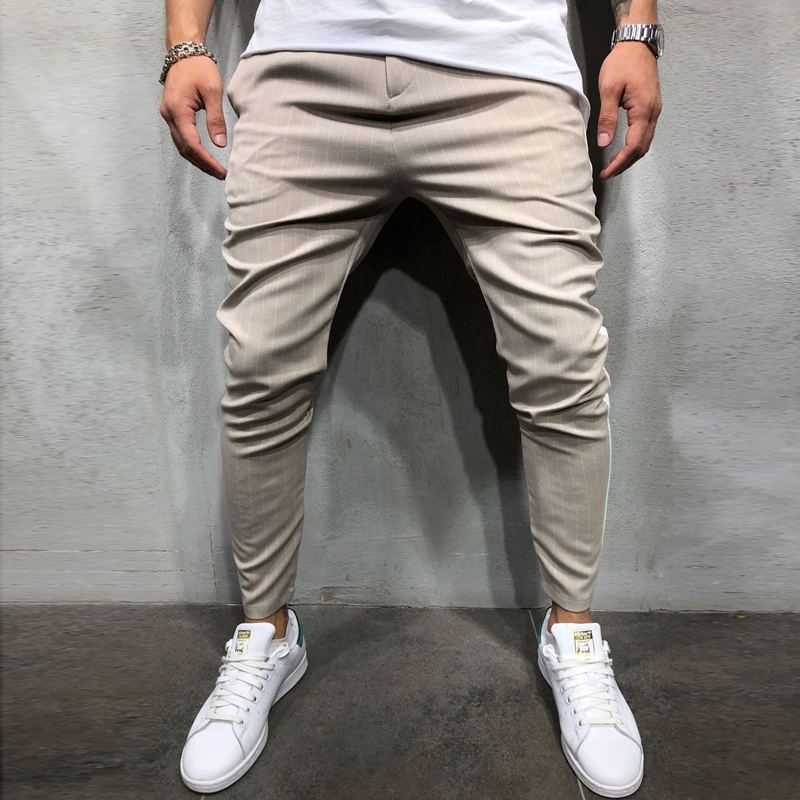 H1469e8127610448a8ae0a867434594a8t Spring Autumn Casual Men Sweat Pants Male Sportswear Casual Trousers Straight Pants Hip Hop High Street Trousers Pants Joggers