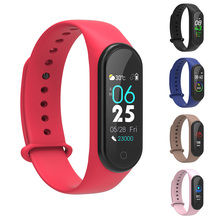 M4S Smart Band for Xiaomi Mi Band 4 Waterproof Fitness Traker Sport Multifunction Smart Bracelet Compatible With Mi Band 4 Strap