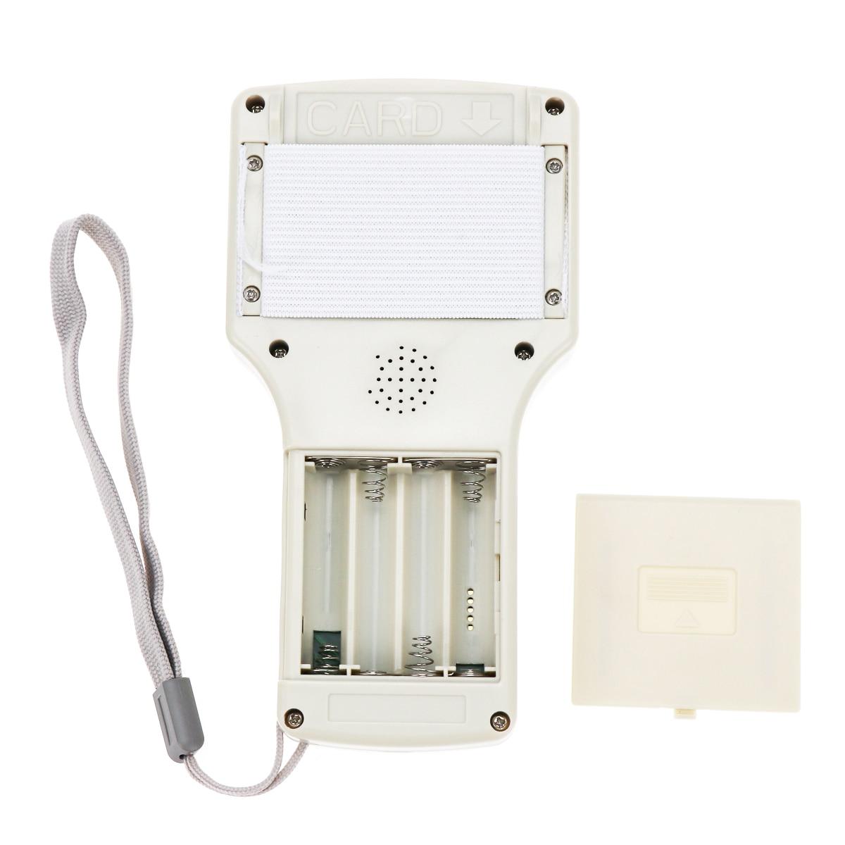 H146a553200b840c6b6d1581d71f1de63q English 10 frequency RFID Copier ID IC Reader Writer copy M1 13.56MHZ encrypted Duplicator Programmer USB NFC UID Tag Key Card