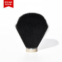 OUMO BRUSH-Black synthetic shaving brush knots(thick hair)