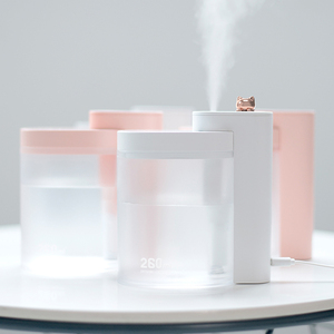 Image 2 - Xiaomi Mijia Tabletop Humidifier Ultrasound Mute USB Charge 260ML Transparent Tank Air Purifier Water Nebulizer For Home Office