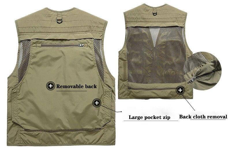2019 jaqueta de pesca colete de pesca