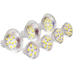 Image 4 - 2pcs/lot Dimmable G4 Bulb MR16 10Led Bulb SMD Bulb BI PIN Led Lamp Light 112V 24V White Warm White