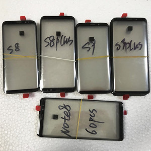 10PCS For Samsung Galaxy S8 S9 S8+ S9+ plus LCD display outer touch panel screen glass Front Glass Lens