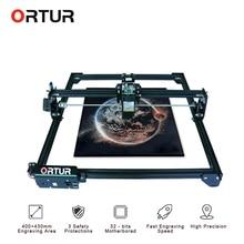 משלוח מהיר ORTUR לייזר מאסטר 2 לייזר חריטת מכונת חיתוך עם 32 סיביות האם 7W 15W 20W לייזר מדפסת CNC נתב