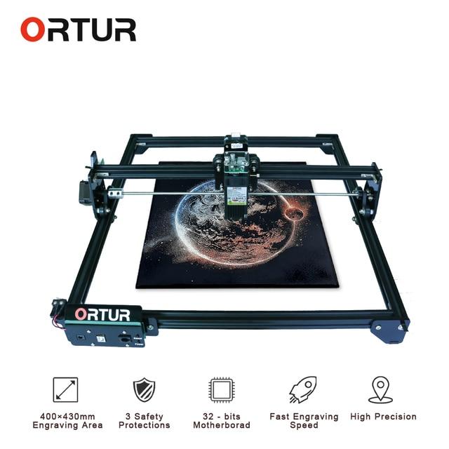 ORTUR – Machine à graver au laser avec carte mère 32 Bit, 7/15/20 W, imprimante, routeur CNC, livraison rapide