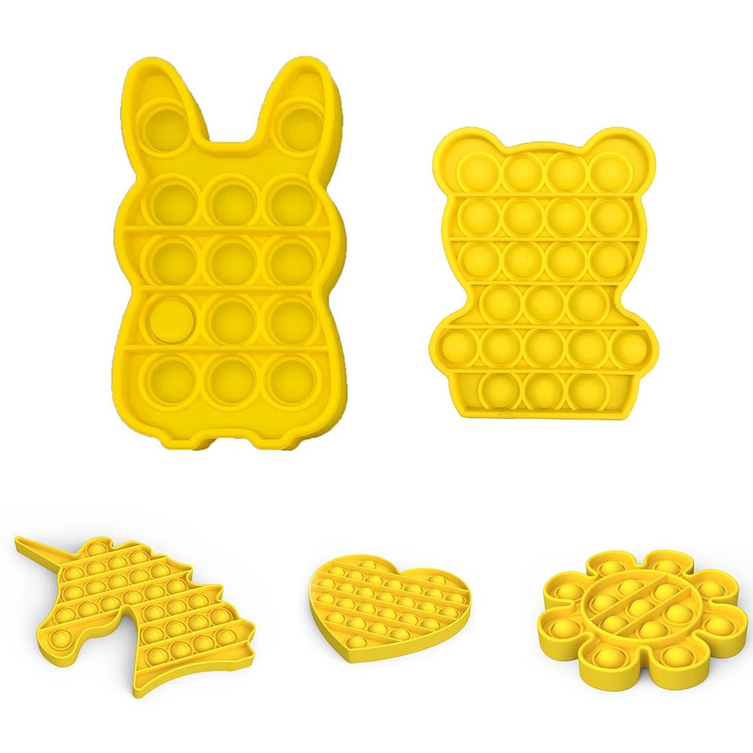 Fidget-Toys Autism Toy Pop-It-Stress Funny Push-Bubble Relief Sensory Adult Children img3