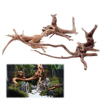 Decoration Wood Natural Trunk Driftwood Tree Fish Tank Background Plant Stump Tree Trunk Ornament image
