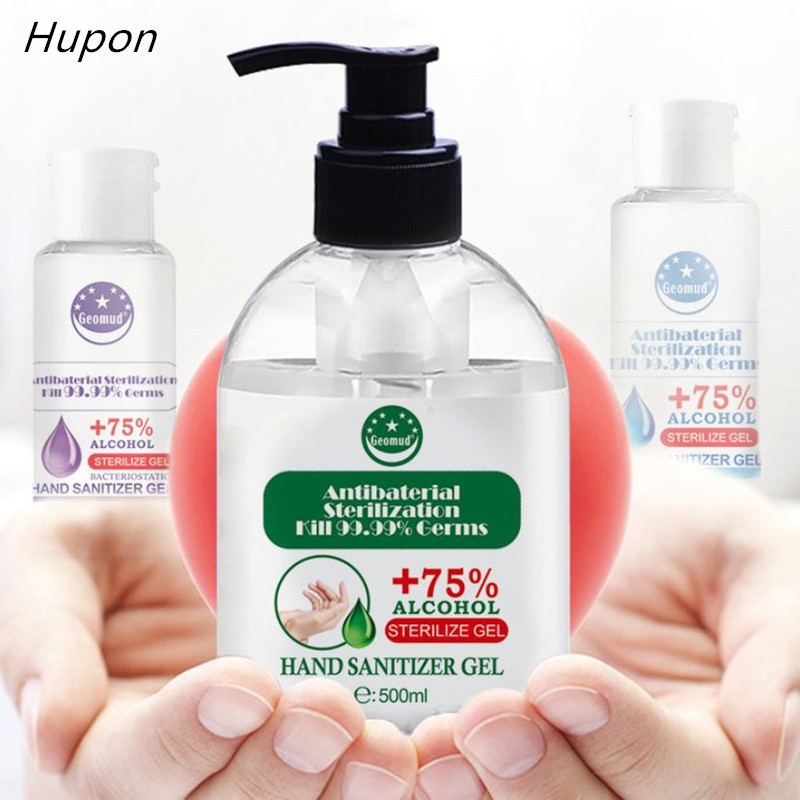 500ml Portable Antibacterical Hand Sanitizer Quick-dry Disposable Disinfection Gel No Wash Bacteria Hand Sanitizer Gel For Home