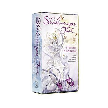 Cartas de Tarot con diseño de sombra de flores, juegos de cartas de Tarot para fiesta, cartas de juego, venta al por mayor, Dropship