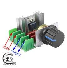 AC 220 V 2000 W Regulator napięcia SCR ściemniacze ściemniacze Regulator prędkości termostatu