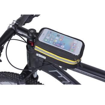 DUUTI-bolsa Para Bicicleta de montaña, resistente a la lluvia, con pantalla táctil...