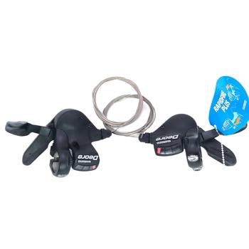 Shimano DEORE SL M530 3*9S 27 S 27 prędkości rower dźwignia zmiany biegów Trigger MTB mountain przerzutki rowerowe lepiej niż ALIVIO M4000 tanie i dobre opinie Przerzutka przednia Stop