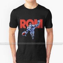 Rom T - Shirt Männer 3D Druck Sommer Top Rundhals Frauen T Shirts Rom Cosmos Galactic 80 Ritter Idw spaceknight Raum