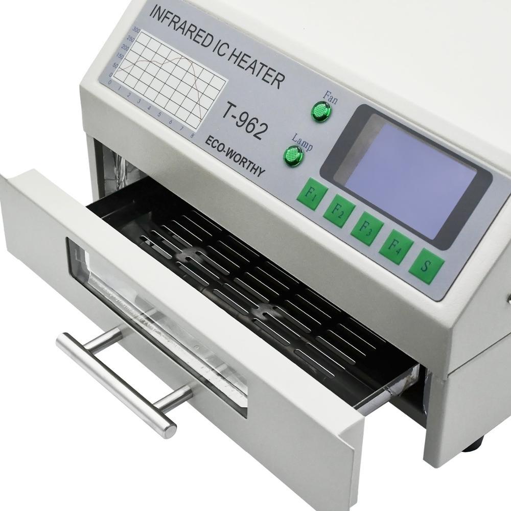 DC HUIS 220V T-962 Reflow Oven Infrarood IC Heater Soldeerstation - Lasapparatuur - Foto 3