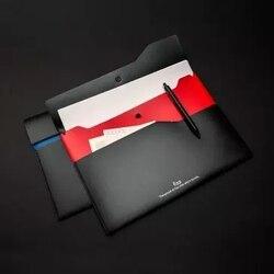Xiaomi Fizz color dwuwarstwowa torba na dokumenty 6 szt. Dwuwarstwowa kieszeń na dokumenty 5