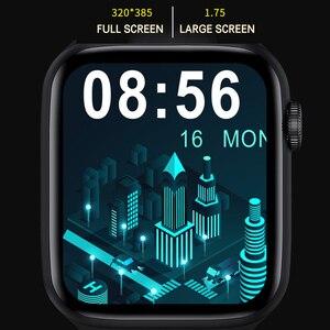 Image 5 - 2021 HW22pro חכם שעון גברים נשים פיצול מסך תצוגה מקורי Smartwatch גוף טמפרטורת צג BT שיחה עבור אנדרואיד IOS IWO