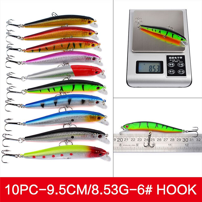56Pcs/lot Almighty Mixed Fishing Lure Bait Set Wobbler Crankbaits Swimbait Minnow Hard Baits Spiners Carp Fishing Tackle