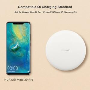 Image 4 - HUAWEI אלחוטי מטען מקורי CP60 צ י מקסימום 15W מהיר להחיל עבור iphone Xs מקס/XR/X iphone 12 Galaxy S9 מהיר מטען
