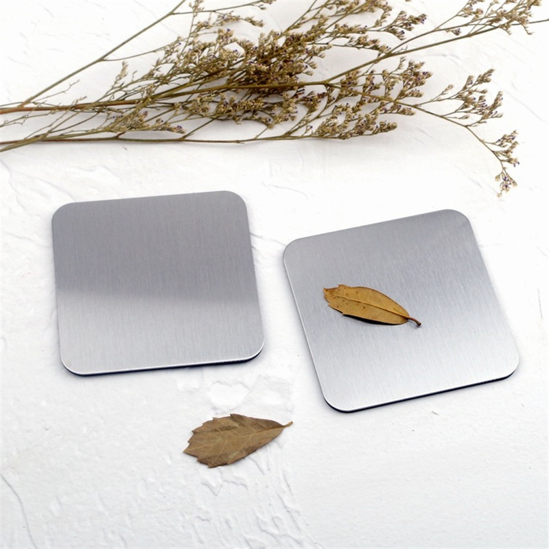 Soffe Ins Style Gold-plated Titanium Stainless Steel Cup Pad Suitable For Coffee Cup  European Non-slip Heat Insulation Mat