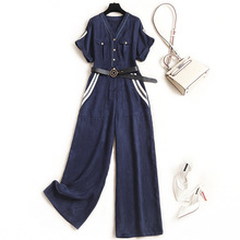 New 2020 Summer Fashion Nova Woman Bodysuit Streetwear Solid Sashes Rompers Wome