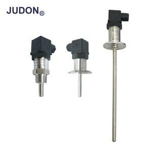Fio 3 do sensor de temperatura da rtd pt100-200c ao sensor de temperatura da tri braçadeira da linha da resistência térmica 450c