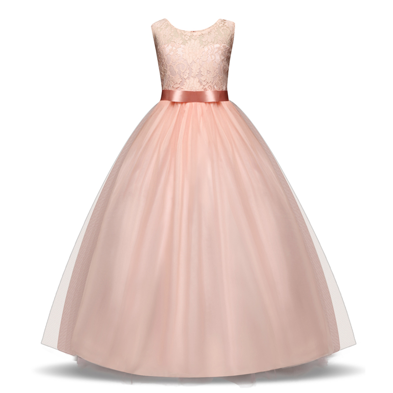 New Year Christmas Dress For Girls Wedding Costume Kids Dresses For Girls Princess Dress Evening Party Dress 3 6 7 8 10 Years 4
