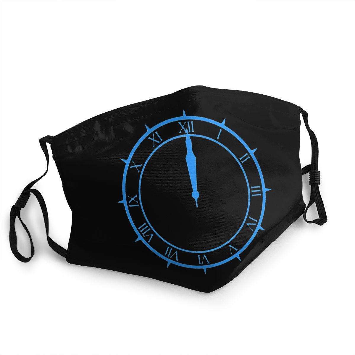 Fashion Face Mask Persona 3 Clock Anti Dust Persona 5 Facial Protective