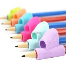 Corretor de lápis para escrita infantil, 6 peças, brinquedos montessori, dispositivo de suporte para caneta de correção, para aprendizagem e posturas