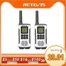 Retevis RT45 PMR רדיו מכשיר קשר 2 pcs PMR PMR446 FRS שימושי דו דרך רדיו Communicator משפחה ווקי טוקי מכשירי קשר