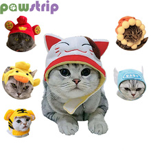Dog Hat Cat Headgear Pet Headdresses For Christmas Halloween Cute Dogs Cats Cosplay Costume Dress up New Year Party Dog Clothing cute deer patterned christmas new year socks for pet cat dog white red size m 4 pcs