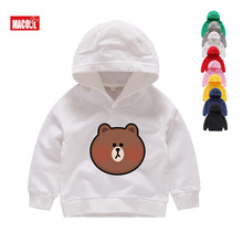 2019 Print Boys Hoodies Sweatshirts for Kids Winter Long Sleeves Boy and Girl Casual Cotton Children