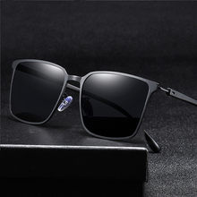 Dia e noite óculos de sol polarizados óculos de visão noturna óculos de condução ao ar livre óculos de sol motoristas de condução masculinos alta feixe