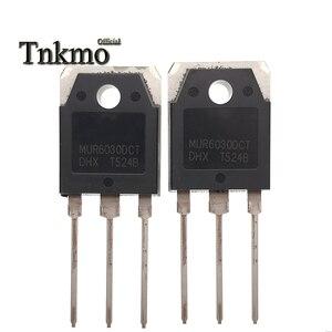 Image 1 - 10 pces mur6030dct to 247 mur6030 to247 6030 60a300v inversor máquina de soldadura ultra rápido diodo de recuperação novo e original