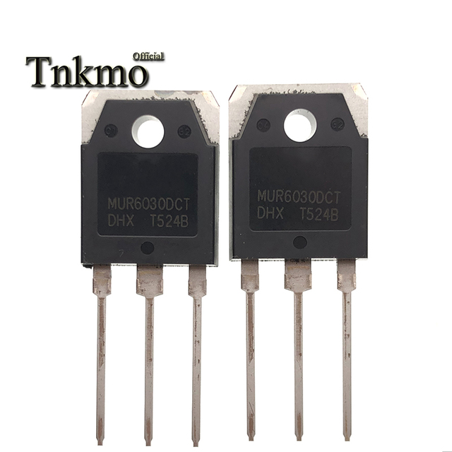 10PCS MUR6030DCT TO 247 MUR6030 TO247 6030 60A300V inverter welding machine ultra fast recovery diode New and original